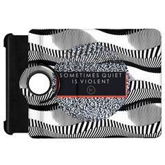 Sometimes Quiet Is Violent Twenty One Pilots The Meaning Of Blurryface Album Kindle Fire Hd Flip 360 Case by Onesevenart