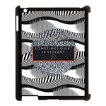 Sometimes Quiet Is Violent Twenty One Pilots The Meaning Of Blurryface Album Apple iPad 3/4 Case (Black)