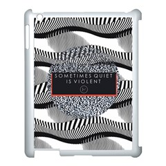 Sometimes Quiet Is Violent Twenty One Pilots The Meaning Of Blurryface Album Apple Ipad 3/4 Case (white) by Onesevenart