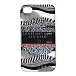 Sometimes Quiet Is Violent Twenty One Pilots The Meaning Of Blurryface Album Apple iPhone 4/4S Hardshell Case with Stand