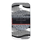 Sometimes Quiet Is Violent Twenty One Pilots The Meaning Of Blurryface Album Samsung Galaxy S4 I9500/I9505  Hardshell Back Case