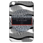 Sometimes Quiet Is Violent Twenty One Pilots The Meaning Of Blurryface Album Samsung Galaxy Tab 3 (8 ) T3100 Hardshell Case