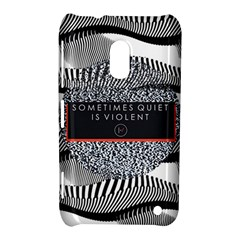 Sometimes Quiet Is Violent Twenty One Pilots The Meaning Of Blurryface Album Nokia Lumia 620 by Onesevenart