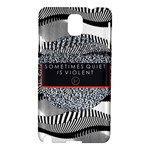 Sometimes Quiet Is Violent Twenty One Pilots The Meaning Of Blurryface Album Samsung Galaxy Note 3 N9005 Hardshell Case