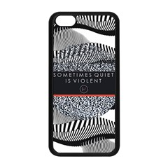 Sometimes Quiet Is Violent Twenty One Pilots The Meaning Of Blurryface Album Apple Iphone 5c Seamless Case (black) by Onesevenart
