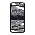 Sometimes Quiet Is Violent Twenty One Pilots The Meaning Of Blurryface Album Apple iPhone 5C Seamless Case (Black)
