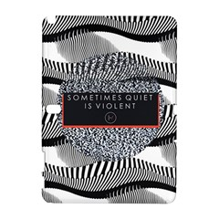 Sometimes Quiet Is Violent Twenty One Pilots The Meaning Of Blurryface Album Samsung Galaxy Note 10 1 (p600) Hardshell Case by Onesevenart