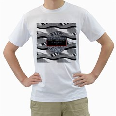 Sometimes Quiet Is Violent Twenty One Pilots The Meaning Of Blurryface Album Men s T Shirt (white)  by Onesevenart