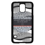Sometimes Quiet Is Violent Twenty One Pilots The Meaning Of Blurryface Album Samsung Galaxy S5 Case (Black)