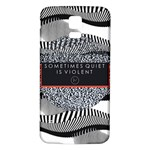 Sometimes Quiet Is Violent Twenty One Pilots The Meaning Of Blurryface Album Samsung Galaxy S5 Back Case (White)