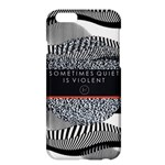 Sometimes Quiet Is Violent Twenty One Pilots The Meaning Of Blurryface Album Apple iPhone 6 Plus/6S Plus Hardshell Case