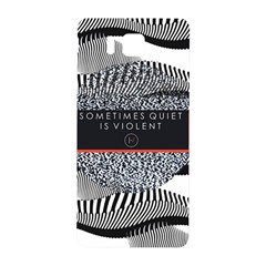 Sometimes Quiet Is Violent Twenty One Pilots The Meaning Of Blurryface Album Samsung Galaxy Alpha Hardshell Back Case by Onesevenart