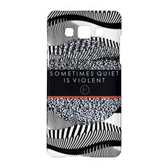 Sometimes Quiet Is Violent Twenty One Pilots The Meaning Of Blurryface Album Samsung Galaxy A5 Hardshell Case  by Onesevenart