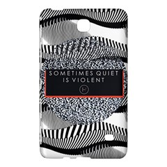 Sometimes Quiet Is Violent Twenty One Pilots The Meaning Of Blurryface Album Samsung Galaxy Tab 4 (8 ) Hardshell Case  by Onesevenart