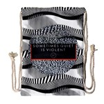 Sometimes Quiet Is Violent Twenty One Pilots The Meaning Of Blurryface Album Drawstring Bag (Large)