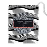 Sometimes Quiet Is Violent Twenty One Pilots The Meaning Of Blurryface Album Drawstring Pouches (XXL)