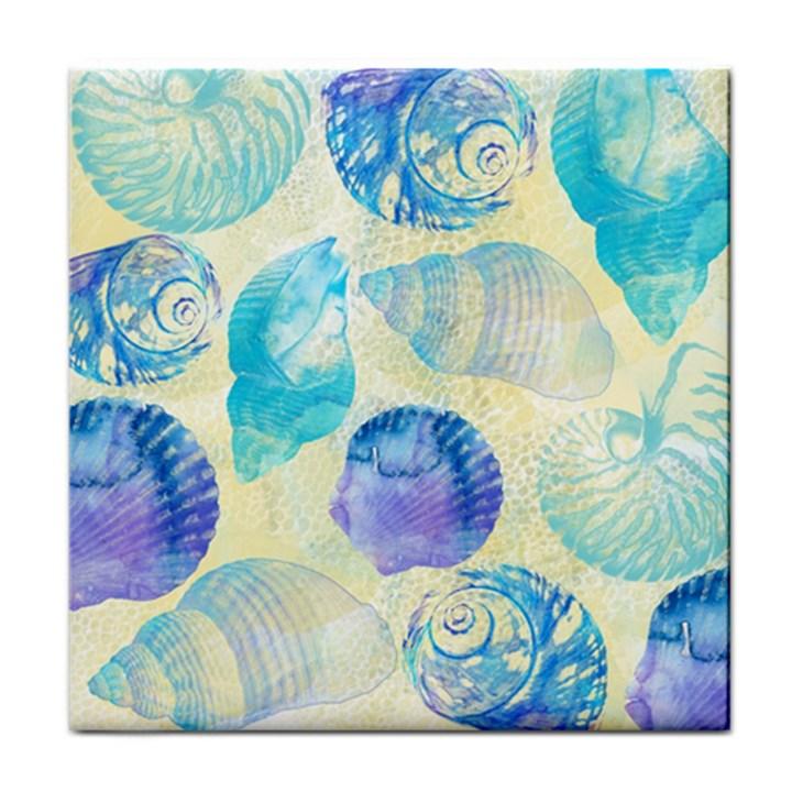 Seashells Tile Coasters
