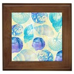 Seashells Framed Tiles Front