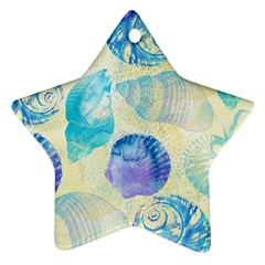Seashells Ornament (Star)