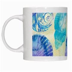 Seashells White Mugs by DanaeStudio