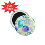 Seashells 1.75  Magnets (100 pack)  Front