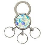 Seashells 3-Ring Key Chains Front