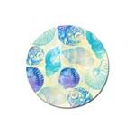 Seashells Magnet 3  (Round) Front