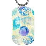 Seashells Dog Tag (One Side) Front