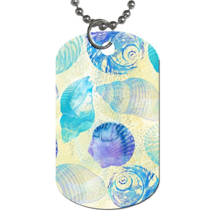 Seashells Dog Tag (Two Sides)