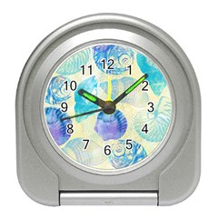 Seashells Travel Alarm Clocks
