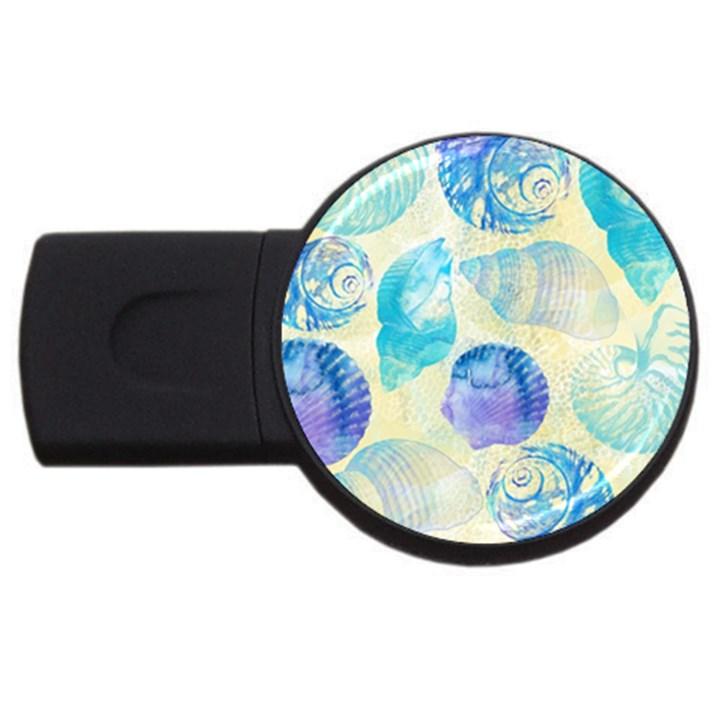 Seashells USB Flash Drive Round (4 GB)