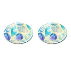Seashells Cufflinks (Oval)