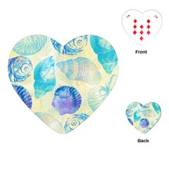 Seashells Playing Cards (heart)  by DanaeStudio