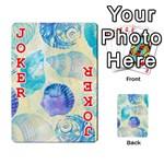 Seashells Playing Cards 54 Designs  Front - Joker2