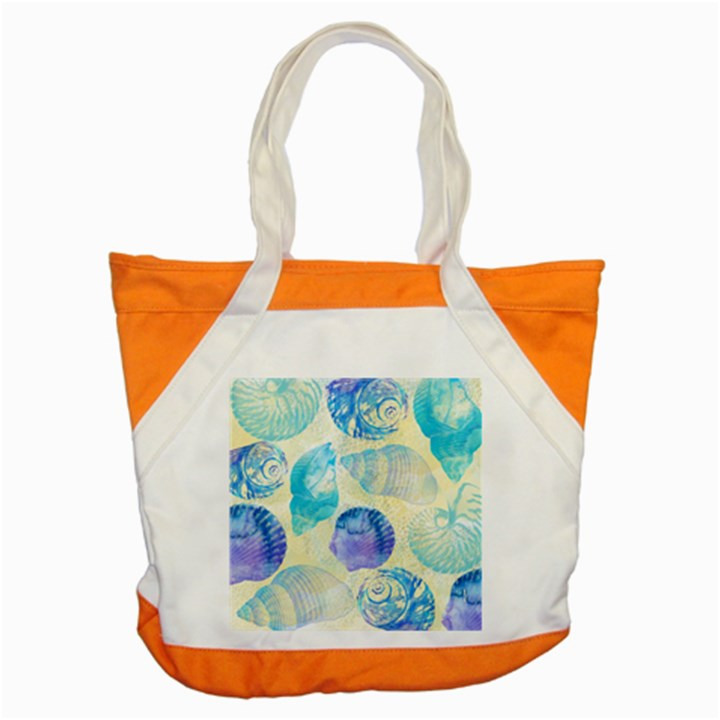 Seashells Accent Tote Bag