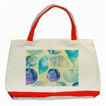 Seashells Classic Tote Bag (Red) Front
