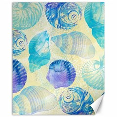 Seashells Canvas 16  X 20