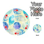 Seashells Playing Cards 54 (Round)  Front - Heart5
