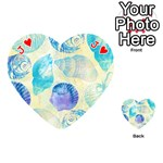 Seashells Playing Cards 54 (Heart)  Front - HeartJ