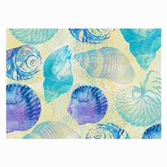 Seashells Large Glasses Cloth