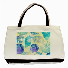 Seashells Basic Tote Bag (Two Sides)