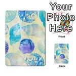 Seashells Multi-purpose Cards (Rectangle)  Frontback