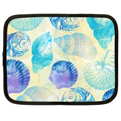 Seashells Netbook Case (large)