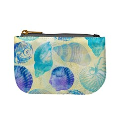 Seashells Mini Coin Purses by DanaeStudio