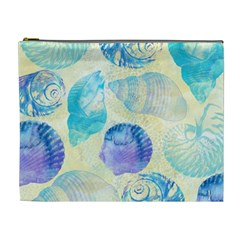 Seashells Cosmetic Bag (XL)