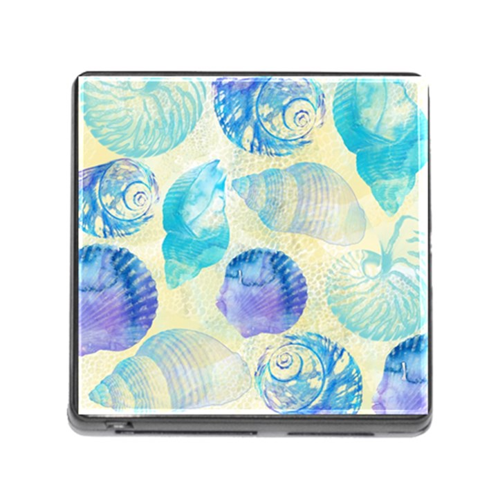 Seashells Memory Card Reader (Square)