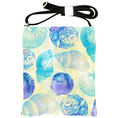 Seashells Shoulder Sling Bags by DanaeStudio