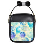 Seashells Girls Sling Bags Front