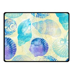 Seashells Fleece Blanket (Small)