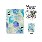 Seashells Playing Cards 54 (Mini)  Front - Spade3